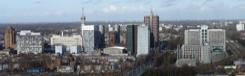 Prachtig uitzicht vanaf de Haagse Toren