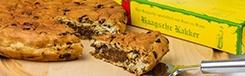 Haagsche kakker: royaal gevuld krentenbrood
