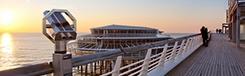 Slapen op de Pier van Scheveningen: een unieke belevenis
