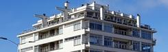 Het eerste flatgebouw van Nederland