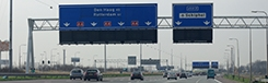 Met de auto naar Den Haag