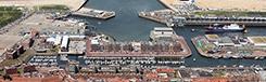 Met de boot naar Den Haag